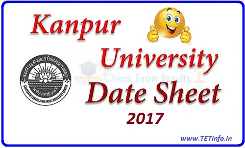 Kanpur University Exam Scheme 2017