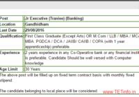 Rajkot Sahakari Bank Recruitment 2016